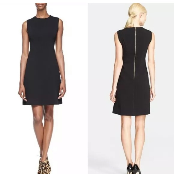 Kate Spade Sicily in Black LBD fit and flare dress